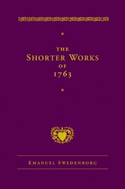Purple cover of Emanuel Swedenborg's The Shorter Works of 1763, translated by George F. Dole